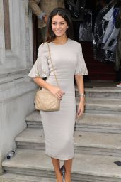 Michelle Keegan at Julien Macdonald Show - London Fashion Week, February 2015
