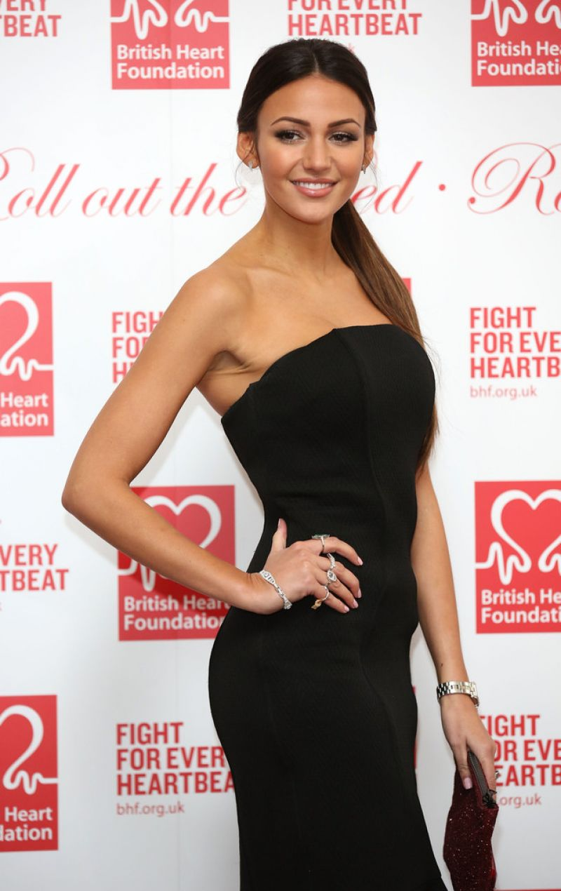 Michelle Keegan - British Heart Foundation