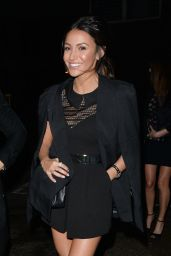 Michelle Keegan Displays Her Tanned and Toned Legs - With Fiancé Mark Wright at CTZN Bar in Chelmsford, Essex
