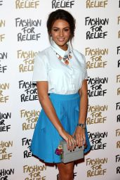 Michelle Keegan - Fashion For Relief Charity Fashion Show in London, Febraury 2015