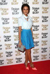 Michelle Keegan - Fashion For Relief Charity Fashion Show in London, Febraury 2015