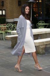 Michelle Keegan Style - Lipsy Love Summer Collection Preview in London, February 2015