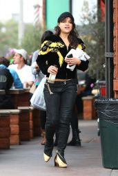 Michelle Rodriguez Street Style - Out in Beverly Hills, February 2015