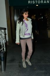 Michelle Rodriguez Style - Out for Dinner at Madeo Restaurant in Los Angeles, Feb 2015