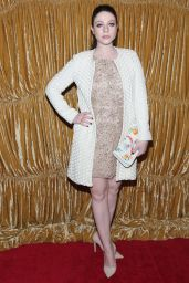 Michelle Trachtenberg - alice + olivia by Stacey Bendet Fashion Show in New York City, Feb. 2015