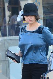 Mila Kunis Street Style - Leaving Sweet Lady Jane Bakery in Los Angeles, Feb. 2015