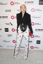 Miley Cyrus – 2015 Vanity Fair Oscar Party in Hollywood