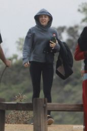 Miley Cyrus at Runyon Canyon Park in Los Angeles, February 2015