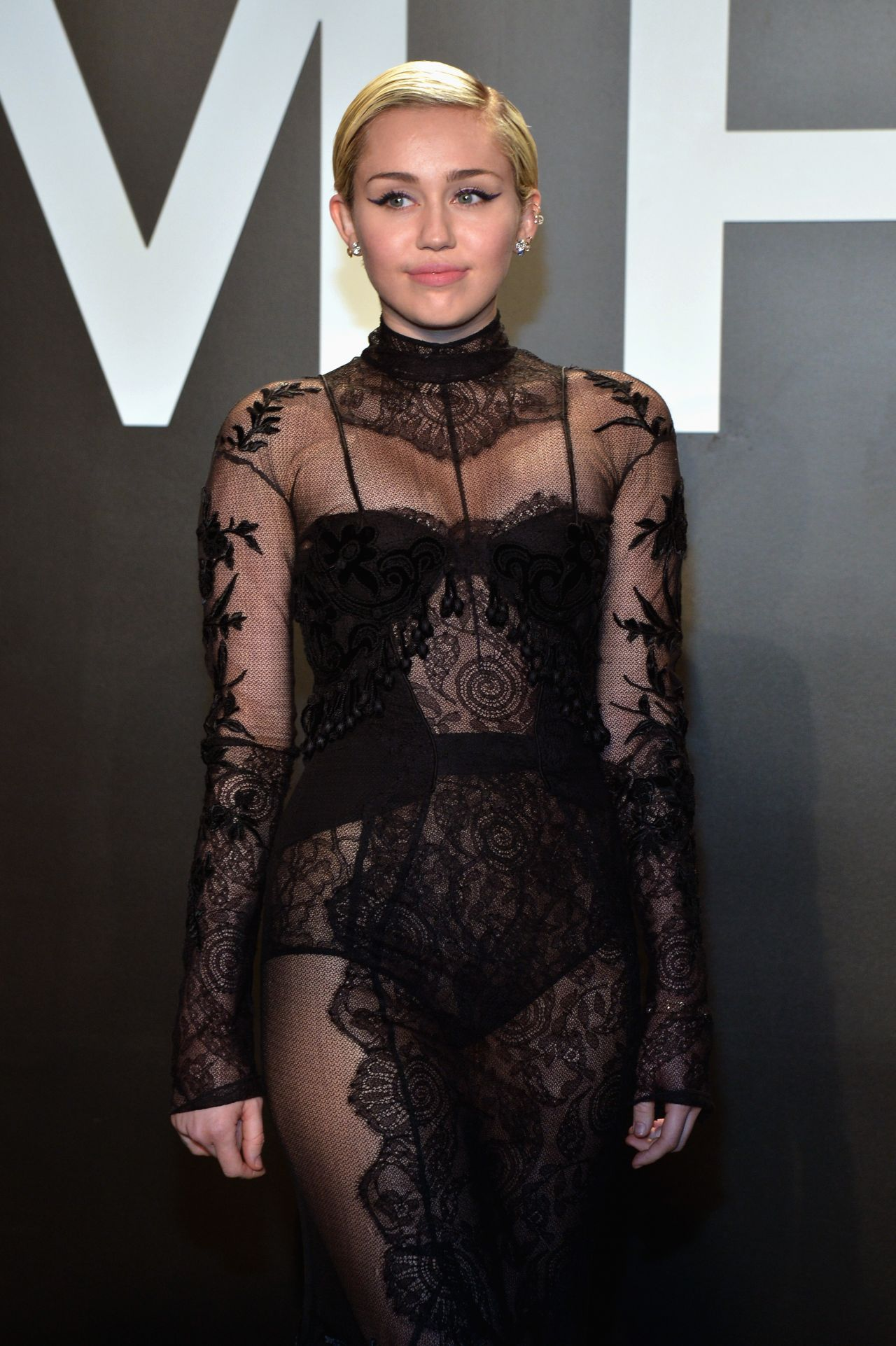 Miley Cyrus – Tom Ford Autumn/Winter 2015 Womenswear Collection Presentation in Los Angeles