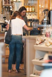Minka Kelly Booty in Jeans - Out in Los Angles, February 2015