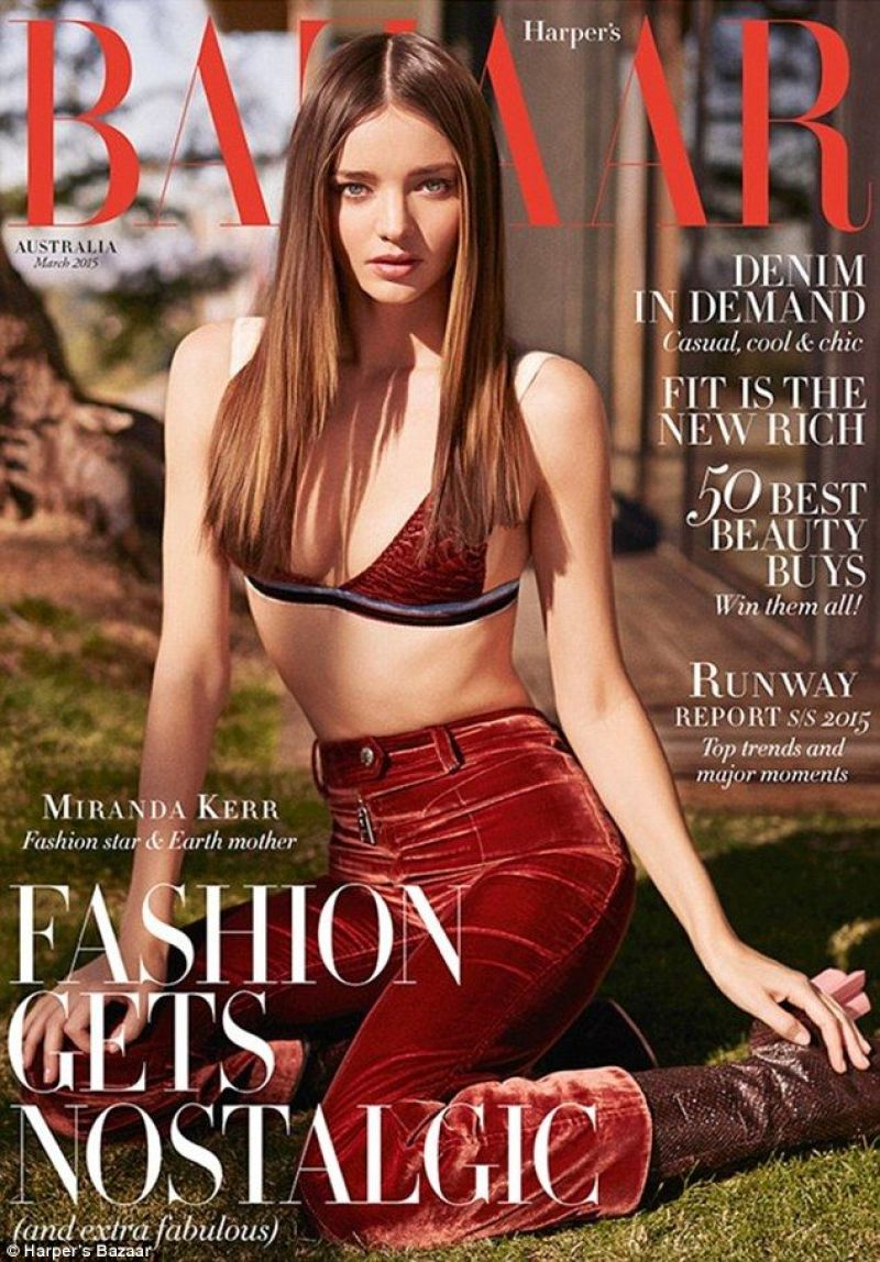 Miranda Kerr - BAZAAR Magazine March 2015 Cover