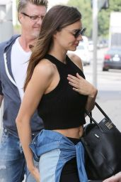 Miranda Kerr Casual Style - Out in Santa Monica, February 2015