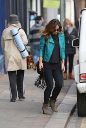 Myleene Klass - Out in London, February 2015
