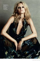 Nadine Leopold - Marie Claire Magazine (UK) March 2015 Issue