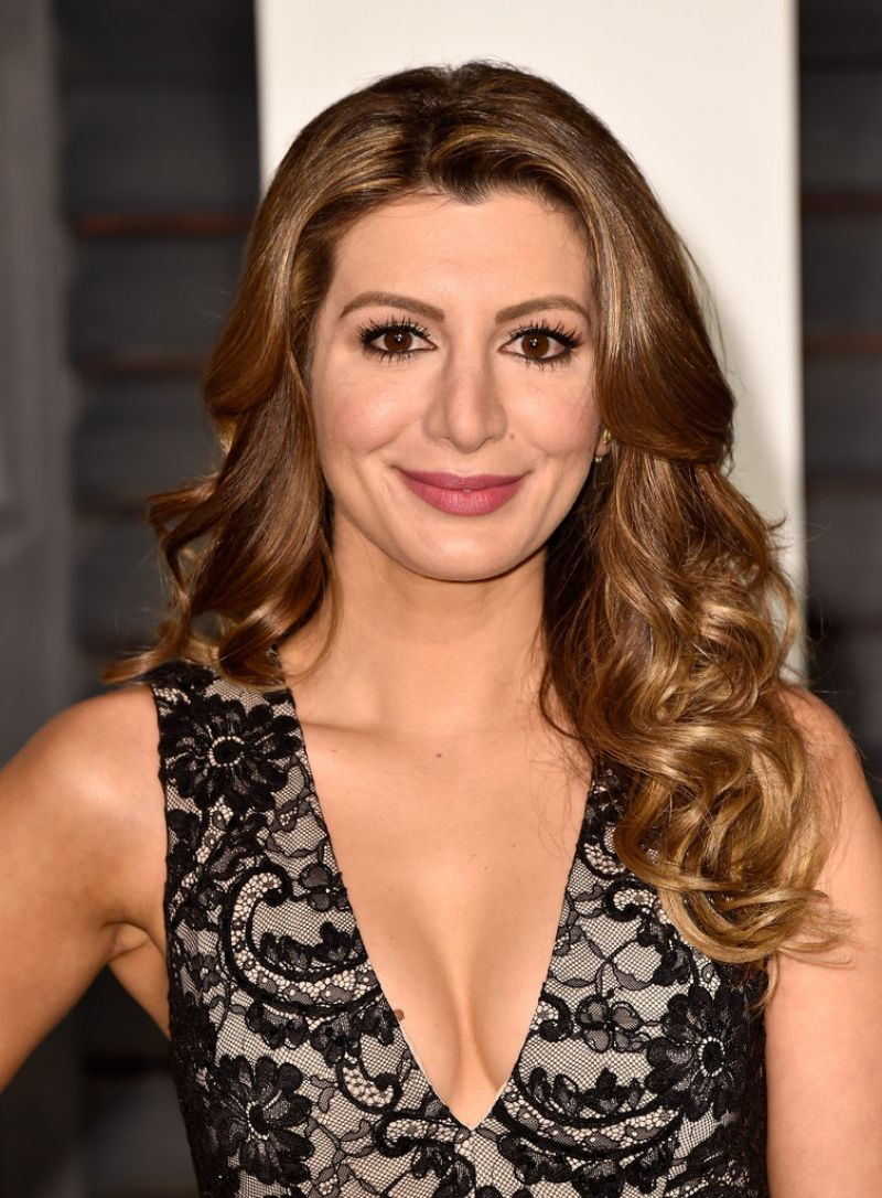 Nasim Pedrad - 2015 Vanity Fair Oscar Party in Beverly Hills hosted by Graydon Carter