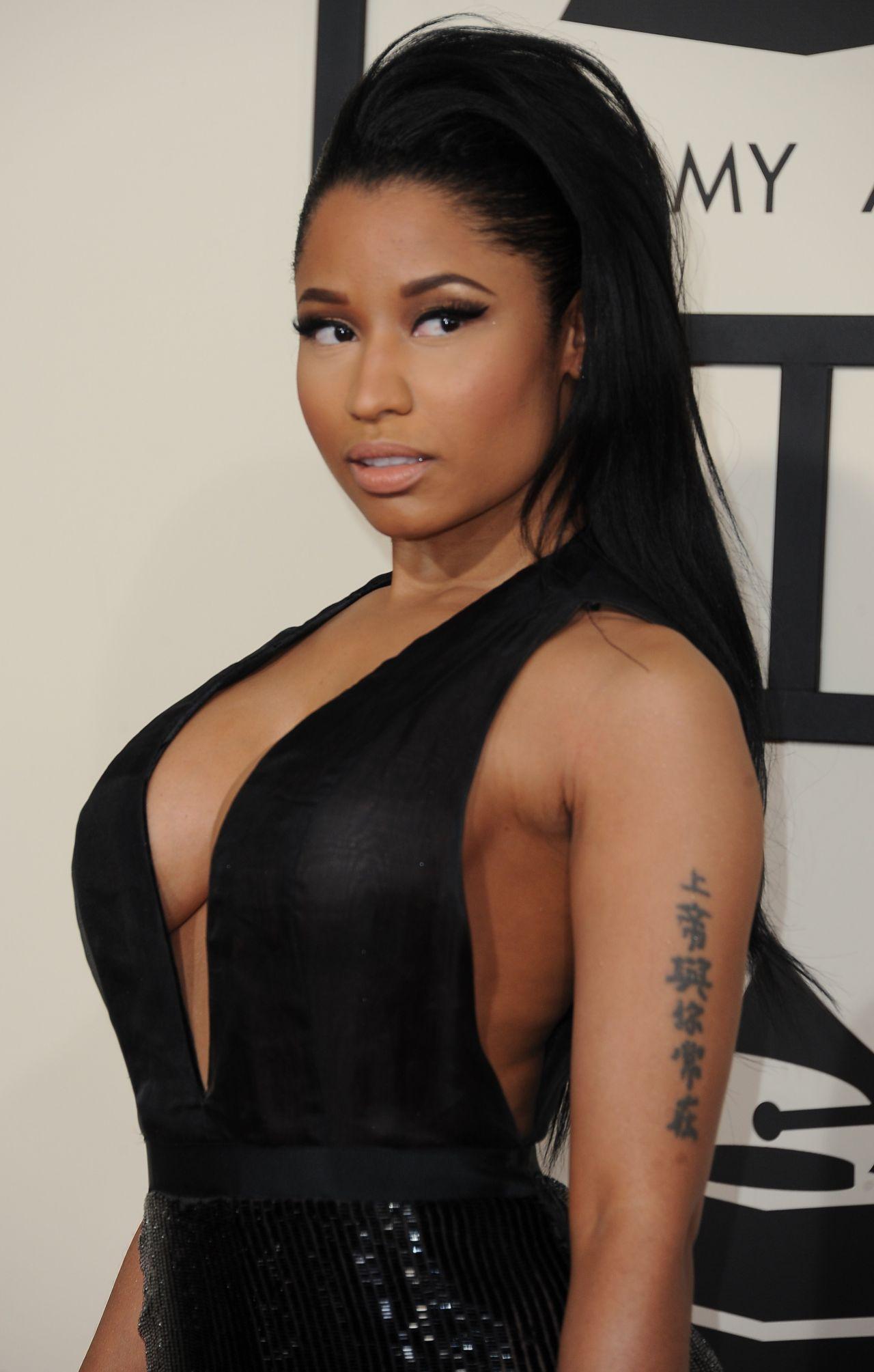 Nicki Minaj 2015 Grammy Awards In Los Angeles