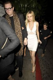 Nicola Peltz Night Out Style - at the Chateau Marmont in West Hollywood, February 2015