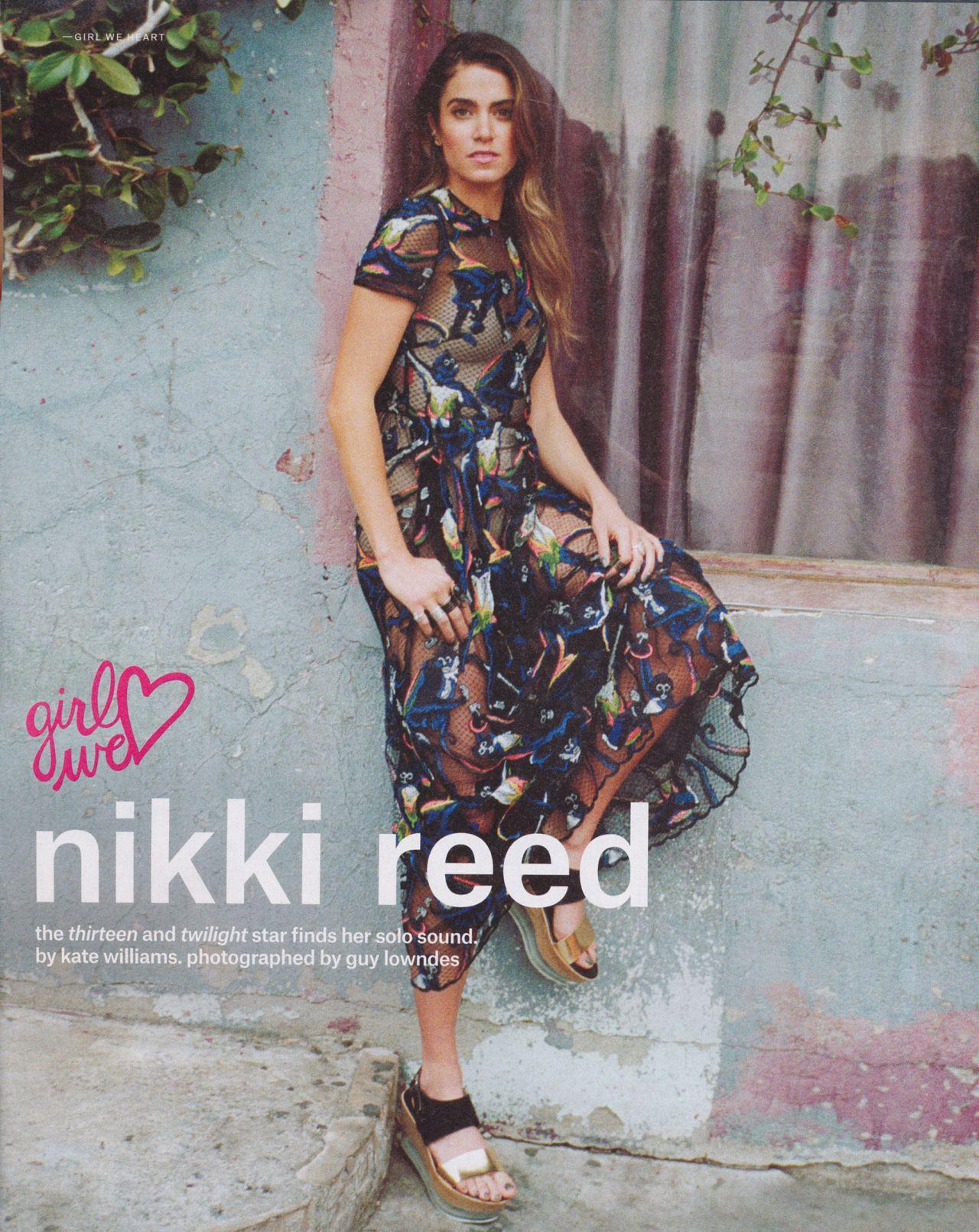 Nikki Reed - Nylon Magazine February 2015 Issue
