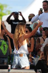 Nina Agdal - Model Beach Volleyball 2015