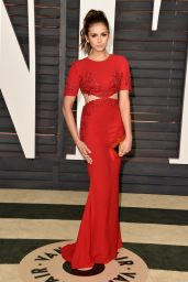 Nina Dobrev - 2015 Vanity Fair Oscar Party in Hollywood
