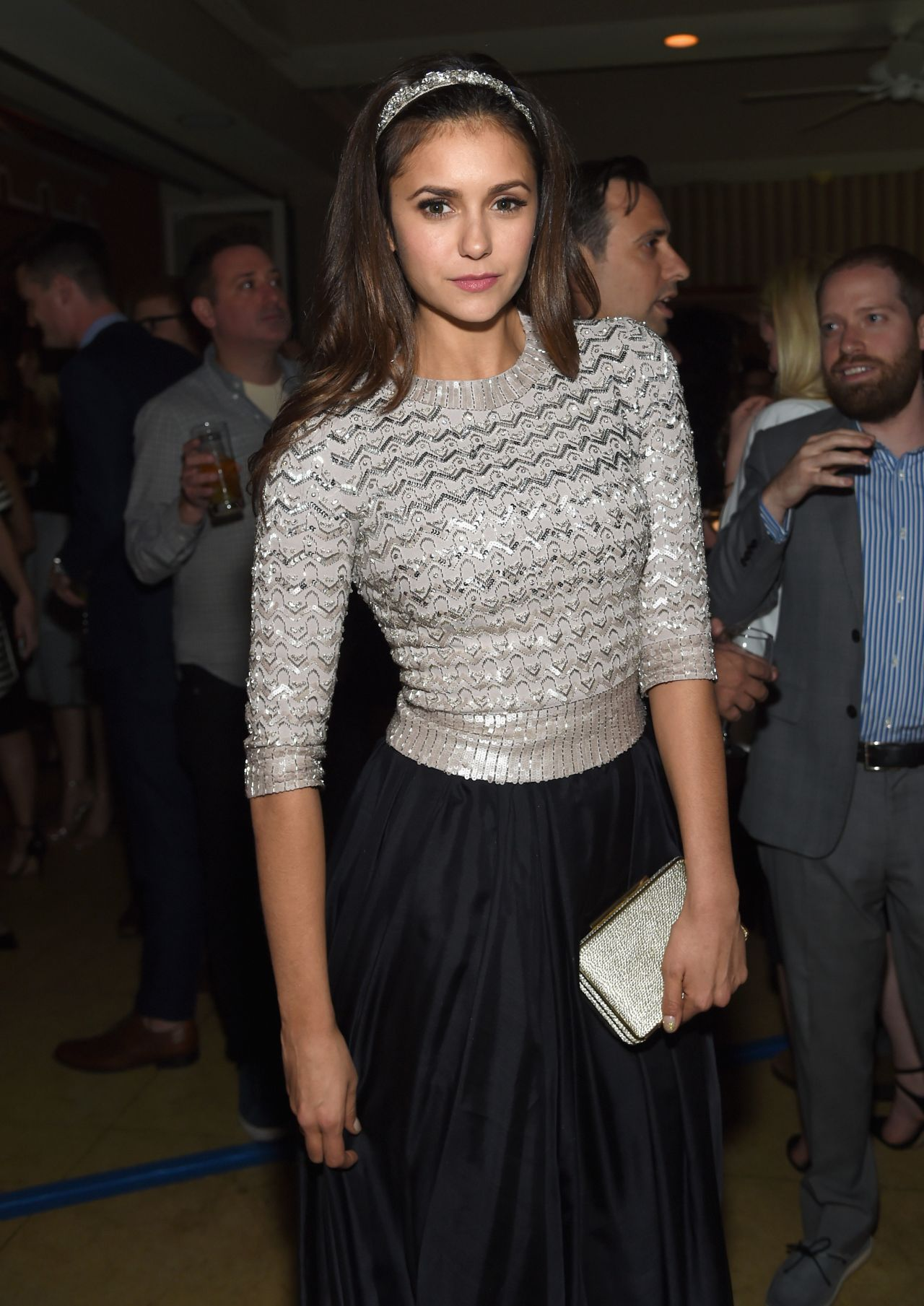 Nina Dobrev - Michael Sugar, Doug Wald and Warren Zavala Pre-Oscar 2015 Party in West Hollywood