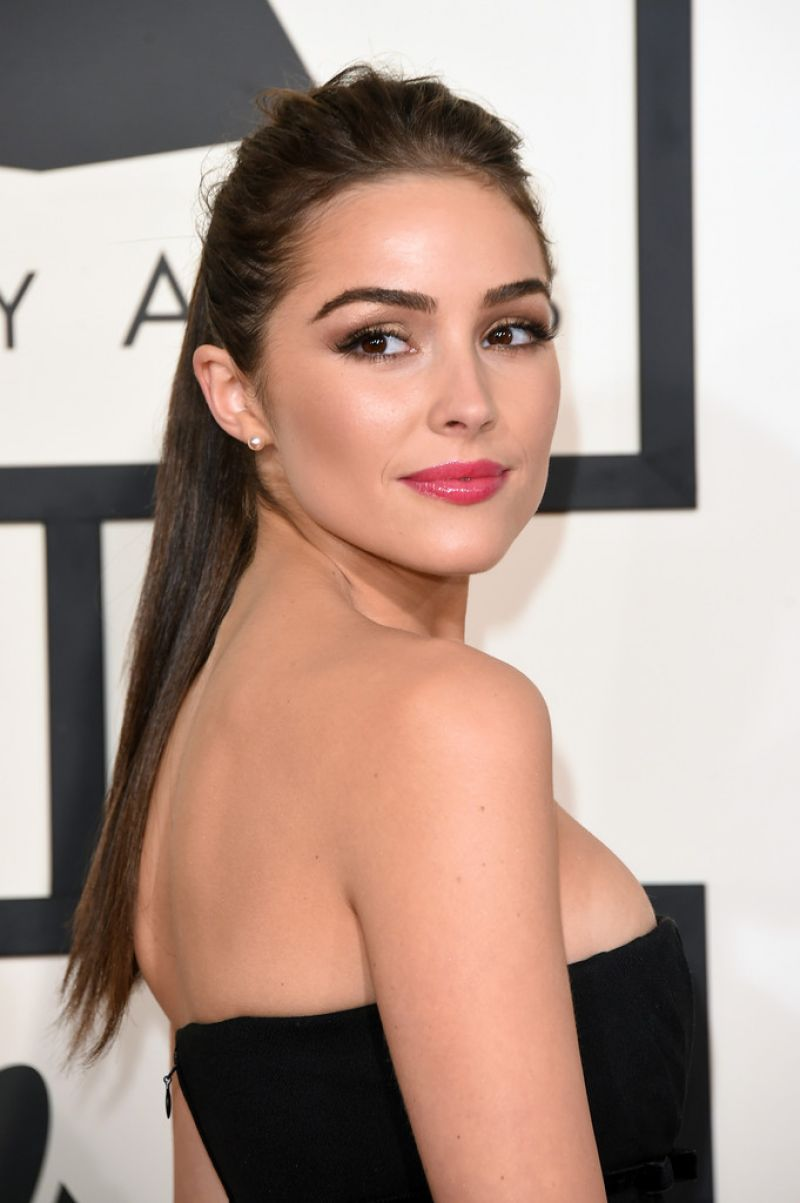 Olivia Culpo 2015 Grammy Awards In Los Angeles