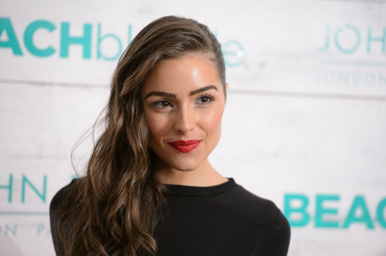 Olivia Culpo - John Frieda Hair Care Beach Blonde Collection Party in New York City, Feb. 2015