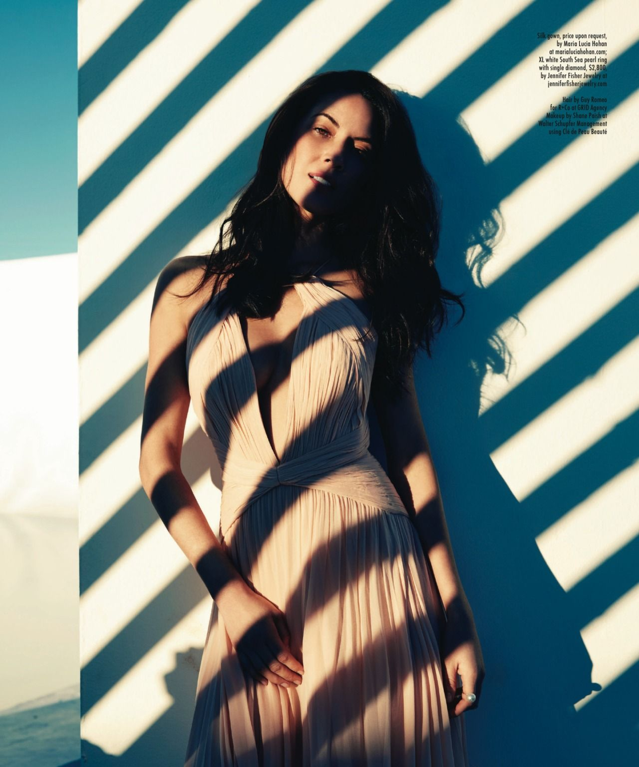 Olivia Munn - Modern Luxury Angeleno Magazine February 2015 Issue