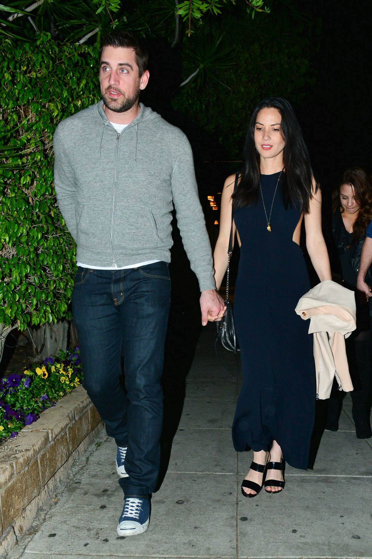 Olivia Munn Night Out Style - Beverly Hills, February 2015