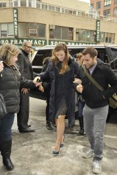 Olivia Wilde Street Style - Out in New York City, February 2015