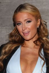 Paris Hilton at Charlotte Ronson Show - MBFW Fall 2015 in New York City