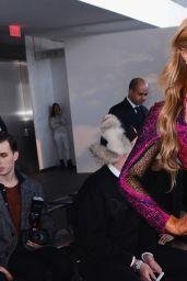 Paris Hilton Style - Gabriela Cadena Fashion Show in New York City, Feb. 2015