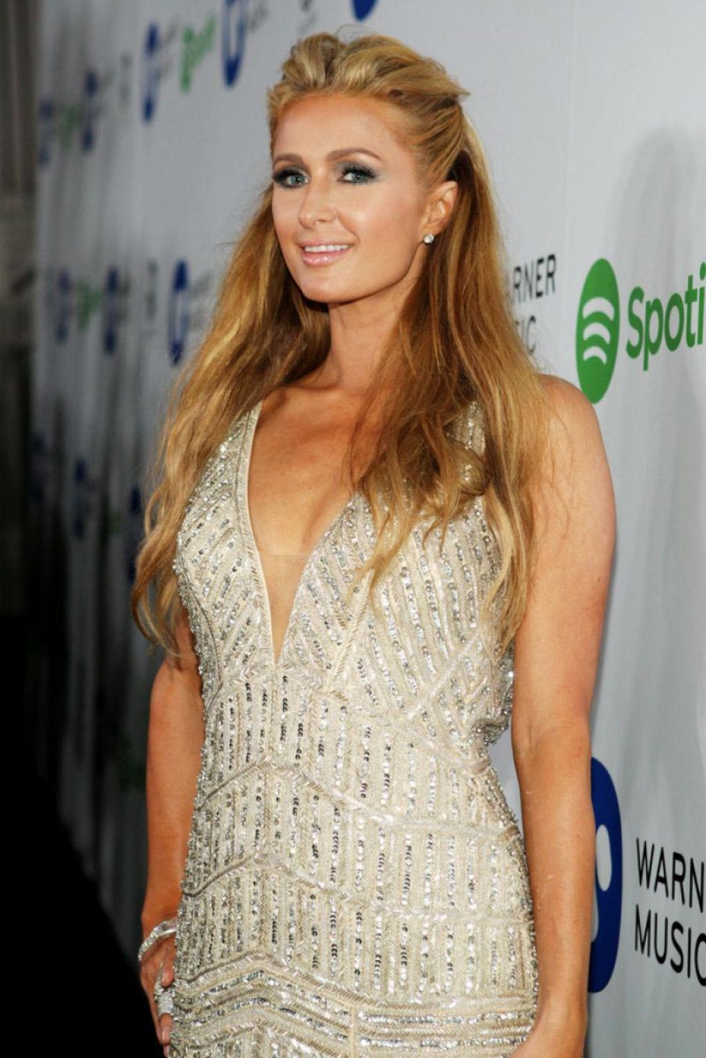 Paris Hilton - Warner Music Group Grammy 2015 After Party in Los Angeles