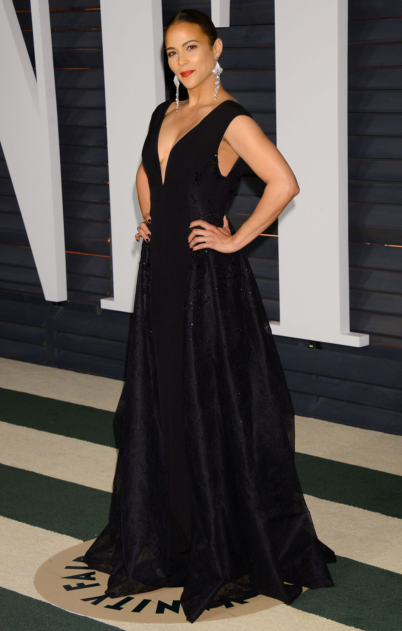 Paula Patton 2015 Vanity Fair Oscar Party In Hollywood