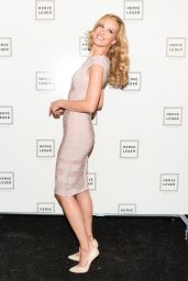 Petra Nemcova - Herve Leger By Max Azria Fall 2015 Runway Show in New York City