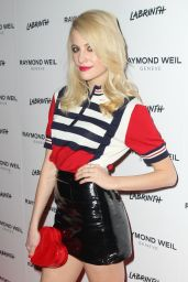 Pixie Lott Style - at Raymond Weil Dinner Party in London, February 2015