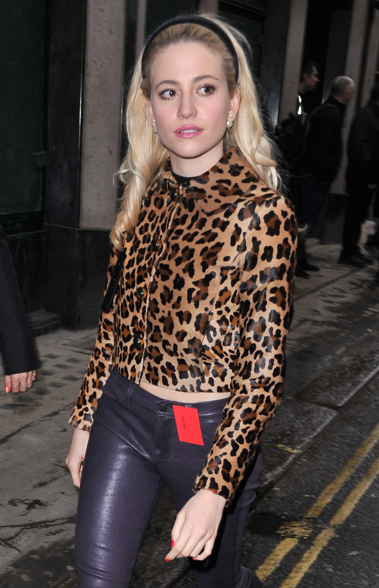 Pixie Lott Style - Out in London, February 2015