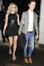 Pixie Lott Stylle - Ramusake Restaurant in South Kensington, February 2015