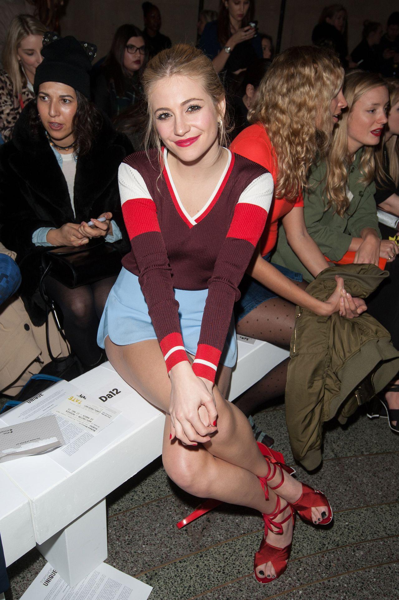 Pixie Lott - Topshop Unique Show Autmn Winter 2015 London Fashion Week