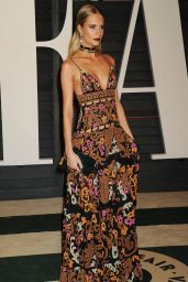 Poppy Delevingne - 2015 Vanity Fair Oscar Party in Hollywood
