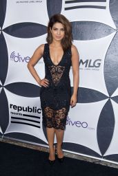 Priyanka Chopra at Republic Records/Big Machine Label Group Grammy 2015 Celebration in Hollywood