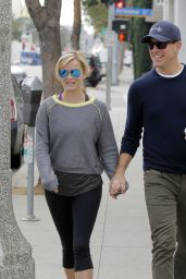 Reese Witherspoon and Jim Toth Out in Los Angeles, February 2015