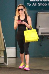 Reese Witherspoon - Leaving a Dance Studio in Brentwood, February 2015