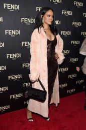 Rihanna at Fendi New York Flagship Boutique Party - MBFW in New York City, Feb. 2015