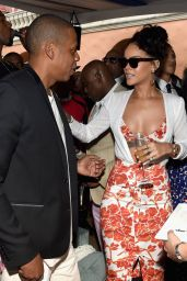 Rihanna at Roc Nation Pre-GRAMMY 2015 Brunch in Los Angeles