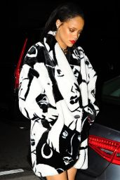 Rihanna Fashion - Out for Dinner at Giorgio Baldi in Los Angeles, February 2015