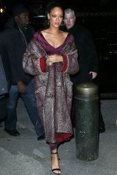 Rihanna - Zac Posen Fashion Show in New York City, February 2015