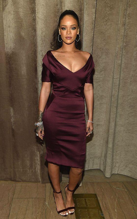 Rihanna Zac Posen Fashion Show In New York City February 2015