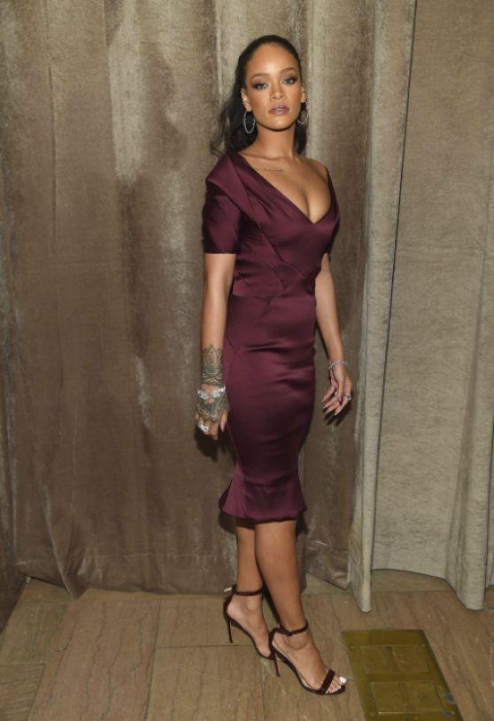 Rihanna Zac Posen Fashion Show