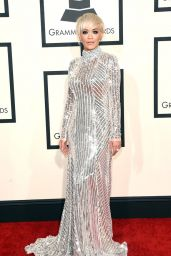 Rita Ora – 2015 Grammy Awards in Los Angeles